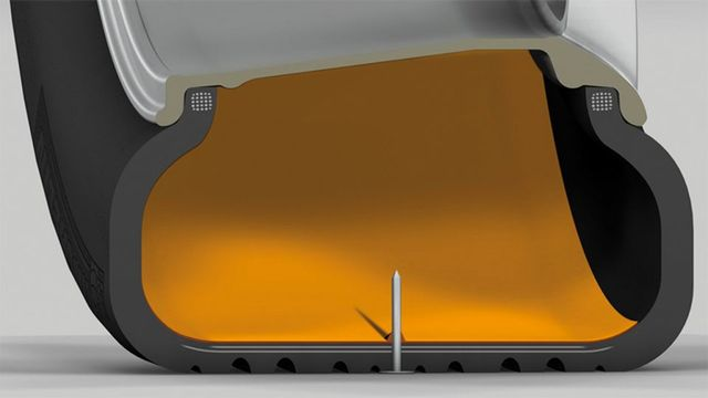 Passat - Pneus com sistema auto-selante