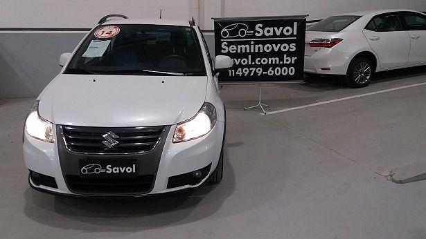 Suzuki Sx4 4X4 2.0 16V Branco 2014}