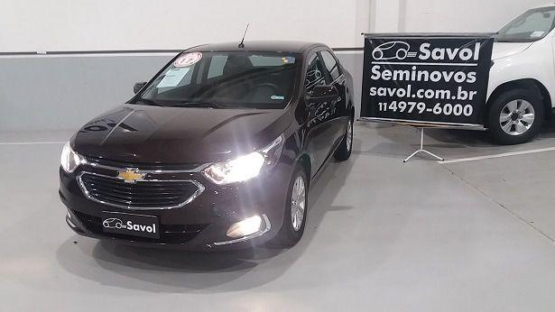 Chevrolet Cobalt LTZ 1.8 8V Flex Marrom 2017}