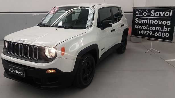 Jeep Renegade 1.8 Flex Branco 2016}