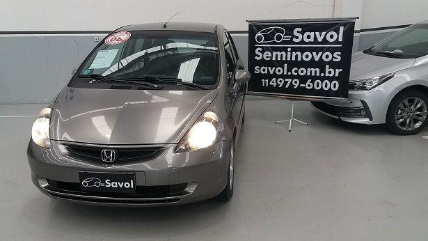 Honda Fit LX 1.4 8V Cinza 2006}