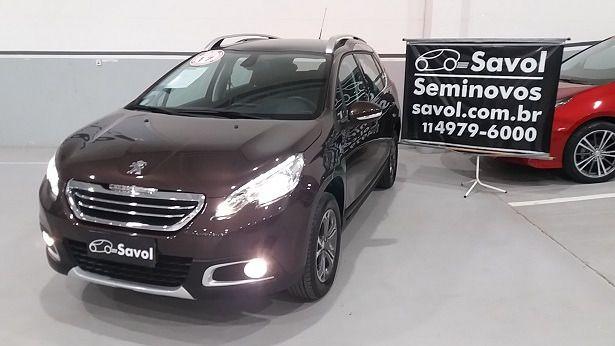Peugeot 2008 Griffe 1.6 16V Flex. Marrom 2017}
