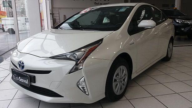 Toyota Prius Híbrido 1.8 VVT-i 16V DOHC Branco 2016}