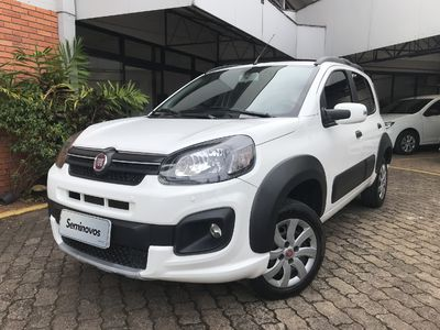 Fiat Uno Way 1.0 8V (Flex) 4p 2019}