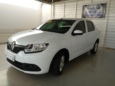 Renault Logan Authentique 1.0 16V (Flex) 2014}
