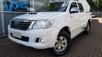 Toyota Hilux Cabine Dupla Diesel SRV 3.0 LIMITED 4x4 (Aut) 2015}
