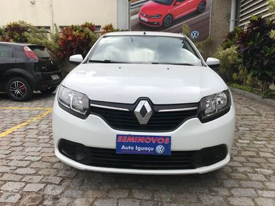 Renault Logan Expression 1.0 16V (flex) 2016 2018}