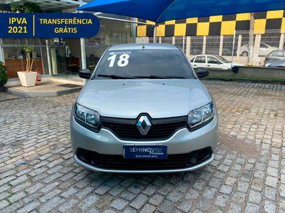 Renault Logan Authentique 1.0 16V (flex) 2016 2018}