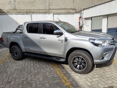 Toyota Hilux Cabine Dupla SRV A/T 2.7L 4x4 Flex 2018}