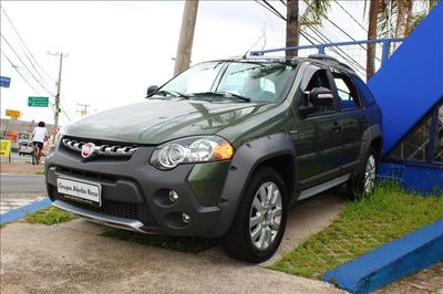 Fiat Palio 1.8 MPI ADVENTURE WEEKEND 16V FLEX 4P AUTOMATIZADO 2015}