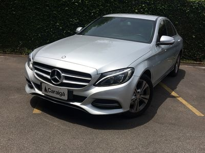 Mercedes-Benz C 180 1.6 CGI Exclusive Turbo (Aut) 2015}