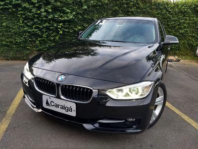 BMW 320i  2.0 SPORT 16V TURBO GASOLINA 4P AUTOMÁTICO 2013}