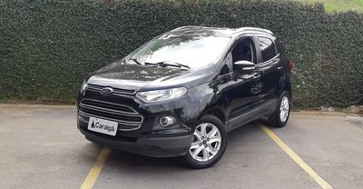 Ford Ecosport Titanium 2.0 16V Powershift (Flex) 2013}