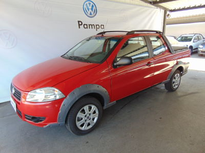 Fiat Strada Working 1.4 (Flex)(Cab Dupla) 2012}