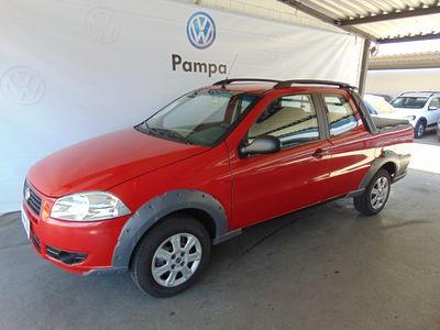 Fiat Strada Working 1.4 (Flex)(Cab Dupla) 2012}