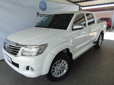 Toyota Hilux Cabine Dupla SRV A/T 2.7L 4x4 Flex 2013}