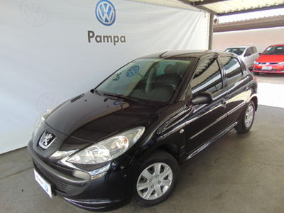 Peugeot 207 Hatch XR 1.4 8V (flex) 4p 2009}
