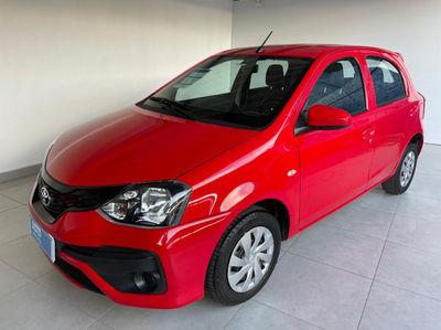 Toyota Etios Hatch X 1.3L (Flex) (Aut) 2020}