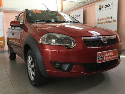 Fiat Strada Trekking 1.6 16V (Flex) (Cab Dupla) 2016}