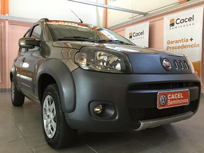 Fiat Uno 1.0 EVO WAY FLEX 4P MANUAL 2011}