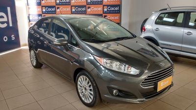 Ford New Fiesta Sedan Titanium 1.6 AT (Flex) 2016 2015}