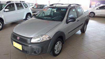 Fiat Strada Working 1.4 (Flex)(Cab Dupla) 2015}