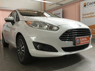 Ford New Fiesta Sedan Titanium 1.6 AT (Flex) 2016 2015}