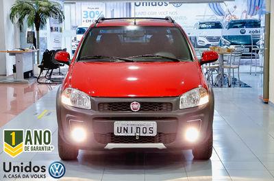 Fiat Strada Working 1.4 (Flex) (Cab Dupla) 2018}