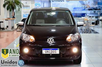 Volkswagen up! black, white, red up! 1.0 TSI 2016}