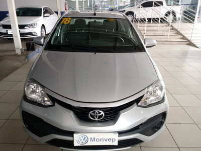 Toyota Etios Sedan X 1.5L (Flex) 2018}