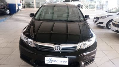 Honda Civic New  LXS 1.8 16V i-VTEC (aut) (flex) 2013}