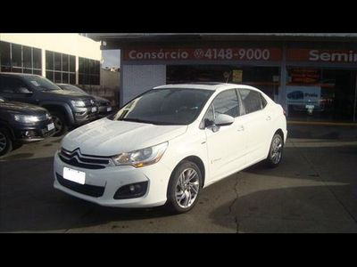 Citroën C4 Lounge Exclusive 1.6 THP (Aut) 2015}