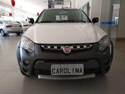 Fiat Palio Weekend ADVENTURE 1.8 16V FLEX 4P 2016 2015}