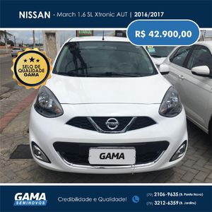 Nissan March 1.6 SL Xtronic 2017}