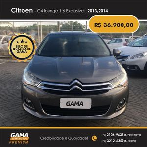 Citroën C4 Lounge 1.6 EXCLUSIVE 2014}