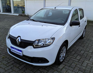 Renault Sandero Authentique 1.0 (Flex) 2019}