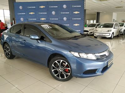 Honda Civic New  LXS 1.8 16V i-VTEC (flex) 2015}