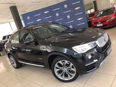BMW X4 2.0 28I X LINE 4X4 16V TURBO GASOLINA 4P AUTOMÁTICO 2016}