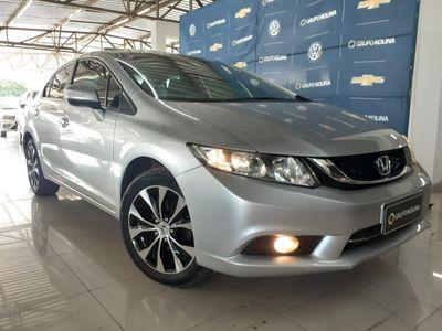Honda Civic New  EXS 1.8 16V i-VTEC (aut) (flex) 2016}