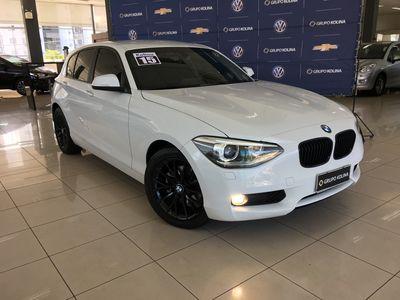 BMW 118I 1.6 16V TURBO GASOLINA 4P AUTOMÁTICO 2015}