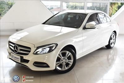 Mercedes-Benz C 180 1.6 CGI Turbo (Aut) 2015}