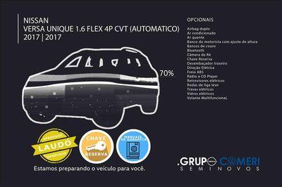 Nissan Versa 1.6 Unique Xtronic 2017}