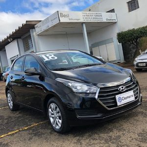 Hyundai HB20 Comfort Plus 1.6 AT Flex 2018}