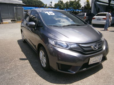 Honda Fit New  LX 1.4 (flex) (aut) 2015}