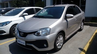 Toyota Etios Sedan XLS 1.5L (Flex) (Aut) 2018}