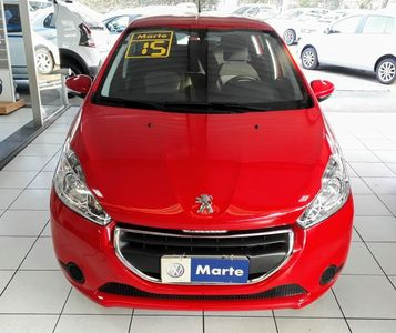 Peugeot 208 Hatch Active 2015 1.5L Flex 2015}