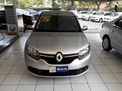 Renault Logan Expression 1.6 8v EASY'R (Flex) (Auto) 2015}