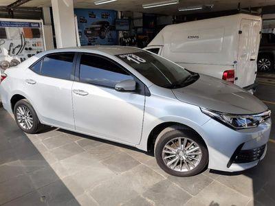Toyota Corolla 1.8 GLi Automático Couro Flex 2018}