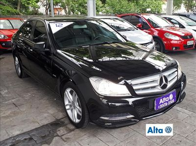 Mercedes-Benz C 180 CGI Exclusive 16V Turbo 1.6 2012}