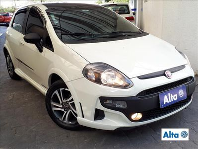 Fiat Punto BlackMotion 1.8 16V (Flex) 2016}